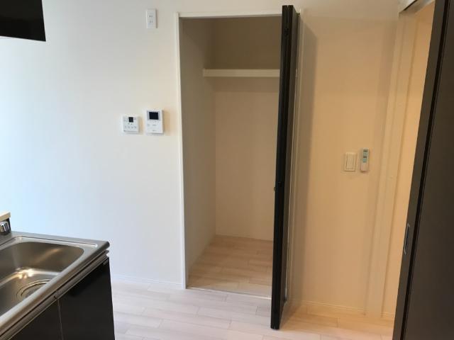 (仮称)大網白里市新築アパート 102号室の収納