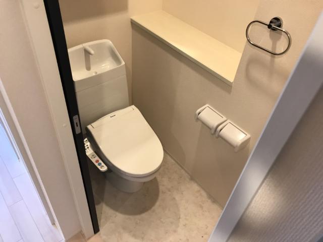 (仮称)大網白里市新築アパート 102号室のトイレ