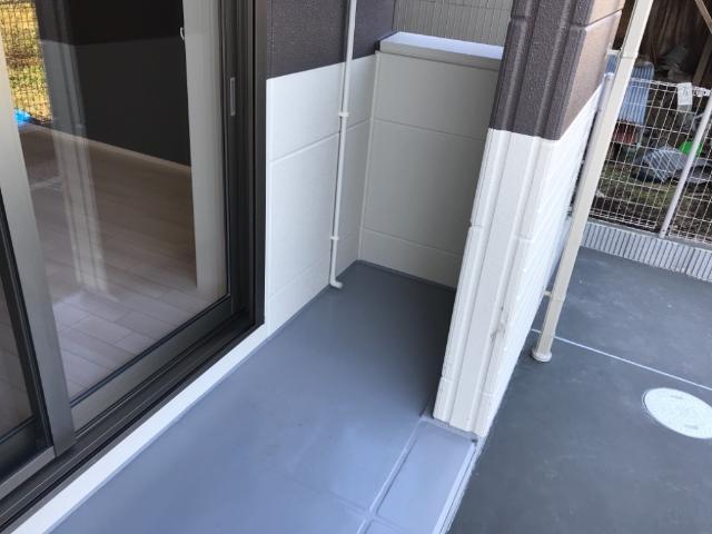 (仮称)大網白里市新築アパート 103号室のバルコニー