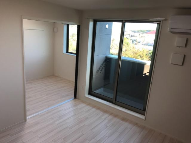 (仮称)大網白里市新築アパート 202号室のバルコニー