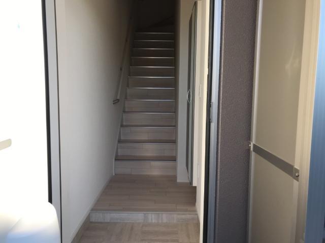 (仮称)大網白里市新築アパート 202号室の玄関