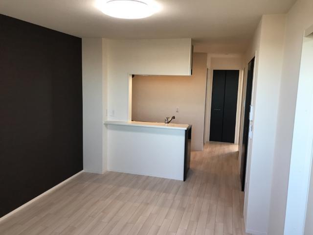 (仮称)大網白里市新築アパート 202号室のリビング