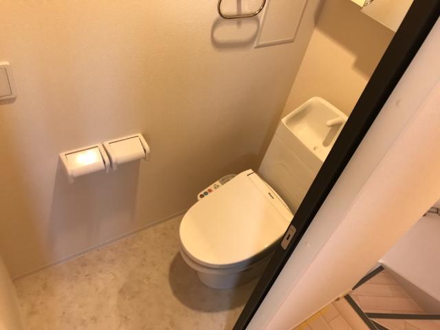 (仮称)大網白里市新築アパート 202号室のトイレ