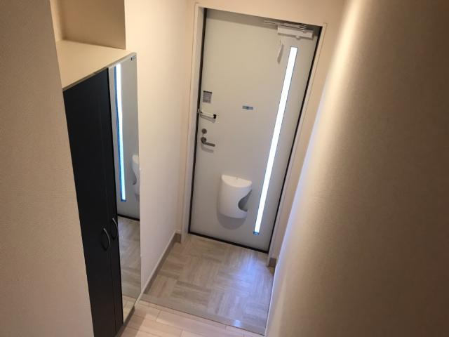 (仮称)大網白里市新築アパート 205号室の玄関