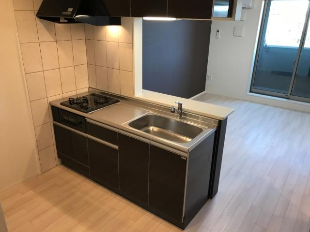 (仮称)大網白里市新築アパート 206号室のキッチン