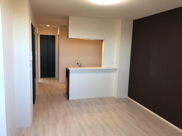 (仮称)大網白里市新築アパート 206号室のリビング