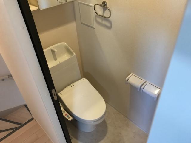 (仮称)大網白里市新築アパート 206号室のトイレ