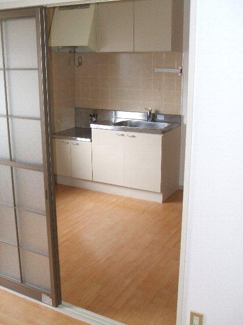 フレグランス佐鳴台 201号室のキッチン
