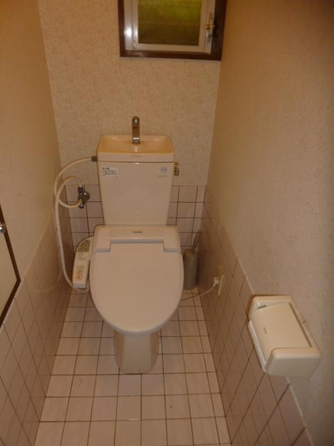 鴨江住宅のトイレ