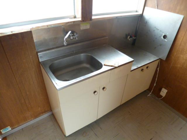 鳥居アパート E号室のキッチン