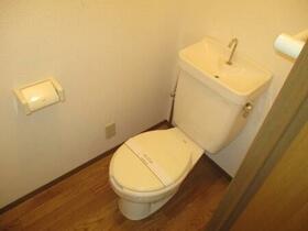 ヴィラフォーレ D 202号室のトイレ