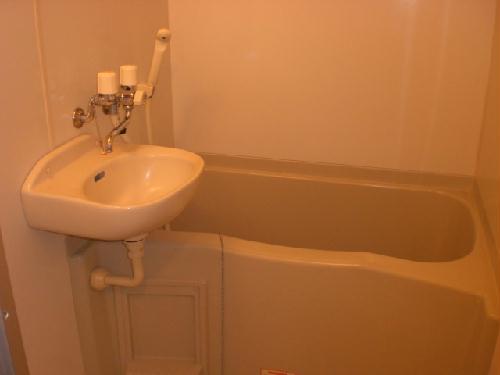 レオパレス桂 303号室の風呂
