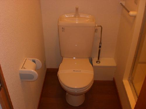 レオパレス桂 303号室のトイレ