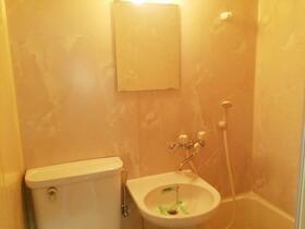 プレスイン新瑞 004C号室の洗面所