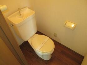 ヴィラフォーレ B 101号室のトイレ