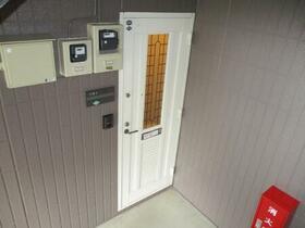 ヴィラフォーレ B 101号室の玄関