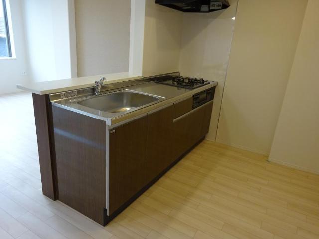 (仮称)茂原市高師新築マンション 305号室のキッチン