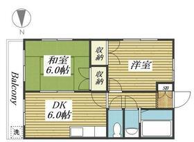 小林アパート 0203号室の間取り