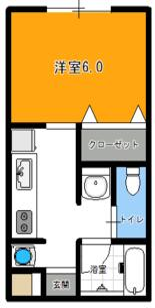 ファミール斎正・105号室の間取り
