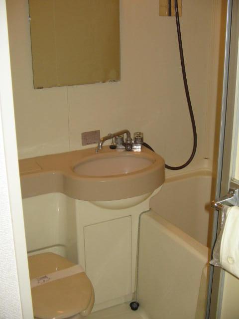コーポシルクロード 209号室の風呂