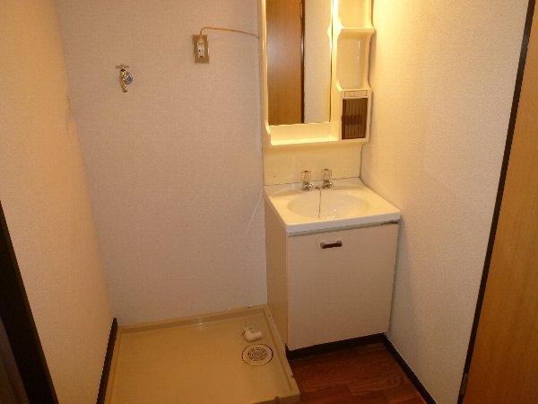 福田マンション 303号室の洗面所