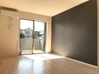 君津市大和田3丁目新築アパートA棟 106号室のリビング
