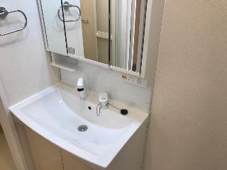 君津市大和田3丁目新築アパートA棟 106号室の洗面所