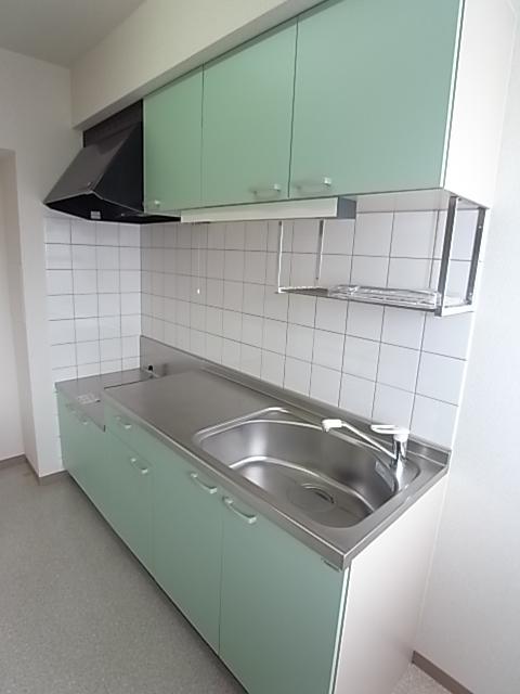 エルシックス 201号室のキッチン