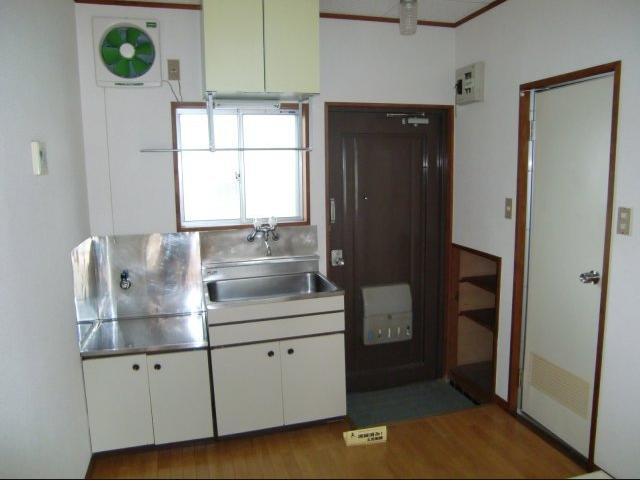 さぎの宮ハイツ 103号室のキッチン