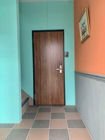 モジュールH 2B号室の洗面所
