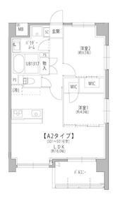 サンパティ―千葉・0301号室の間取り