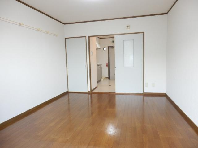 メルヴェーユA 303号室のベッドルーム