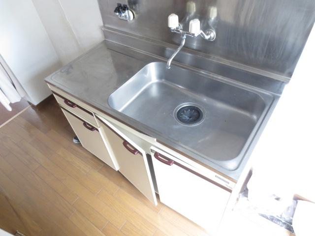 グランビュー 101号室のキッチン