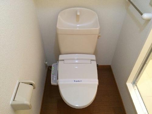 レオパレス昭徳Ⅱ 105号室のトイレ