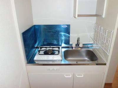 ベルード60 201号室のキッチン
