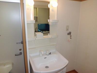 ベルード60 201号室の洗面所