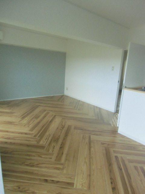 エビラヤビル 406号室のリビング