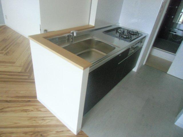 エビラヤビル 406号室のキッチン