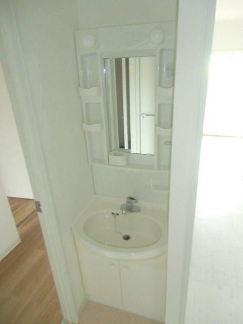 エビラヤビル 406号室の洗面所