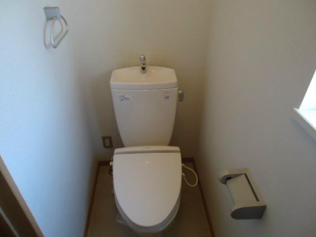 エバーコート広沢Bのトイレ