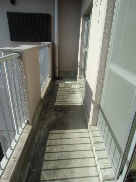 サンライト東刈谷 C406号室のバルコニー
