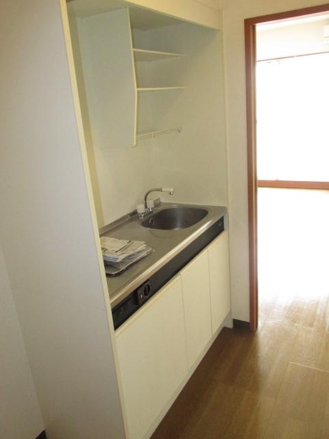 ハイツフーキ 202号室のキッチン