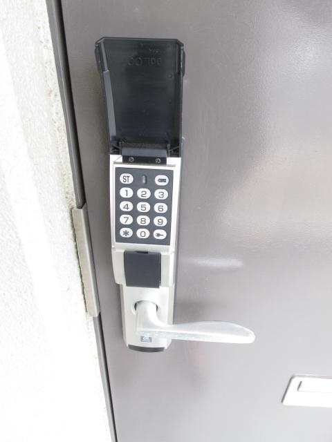 ハイツフーキ 202号室のセキュリティ
