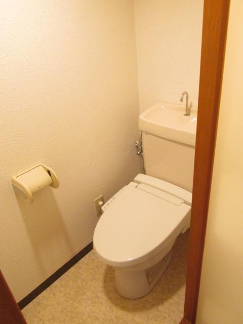ハイツフーキ 202号室のトイレ