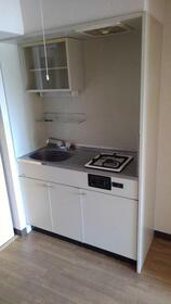ビューラータカノ 305号室のキッチン