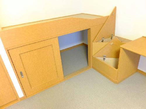 レオパレスMercury 211号室の収納
