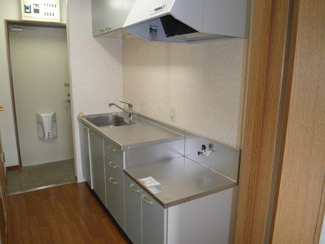 野中第6マンション 205号室のキッチン
