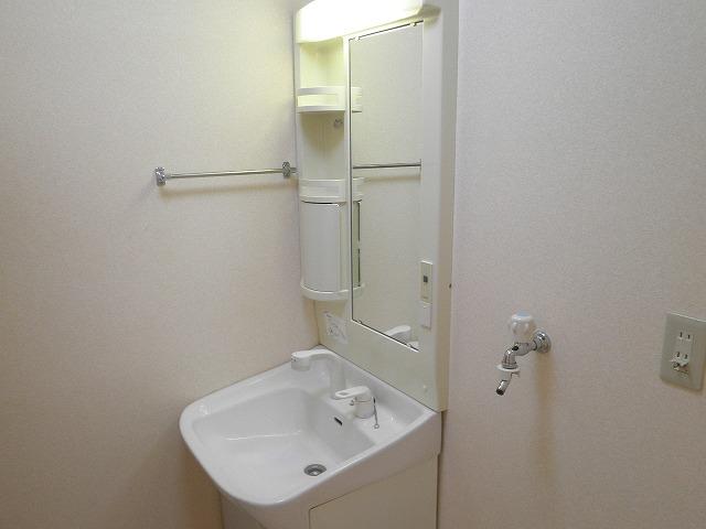 野中第6マンション 205号室の洗面所