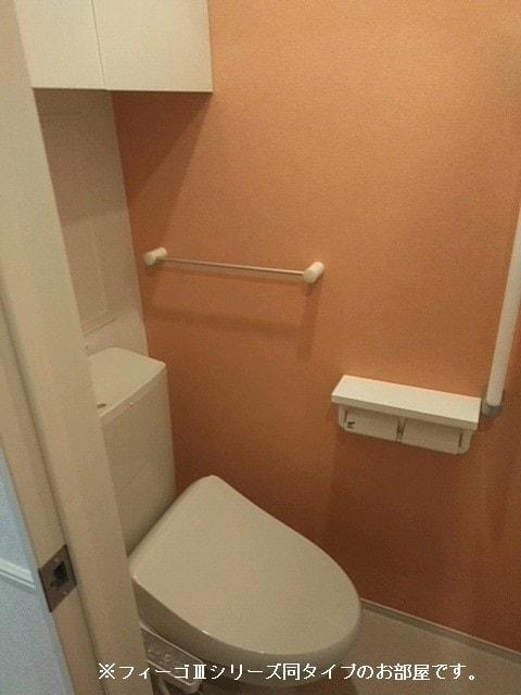 ソレイユ.イー 02010号室のトイレ