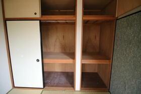 ファミリープラザD 102号室の収納